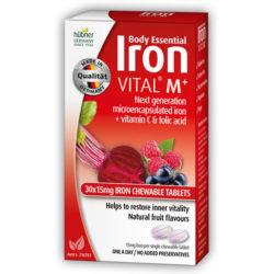 Iron Vital M+ Chewable Tablets