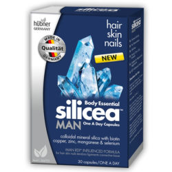 Body Essential Silicea MAN One a Day Capsules