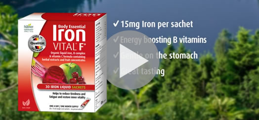 Hubner Body Essential Iron VITAL Supplements Australia (2018)